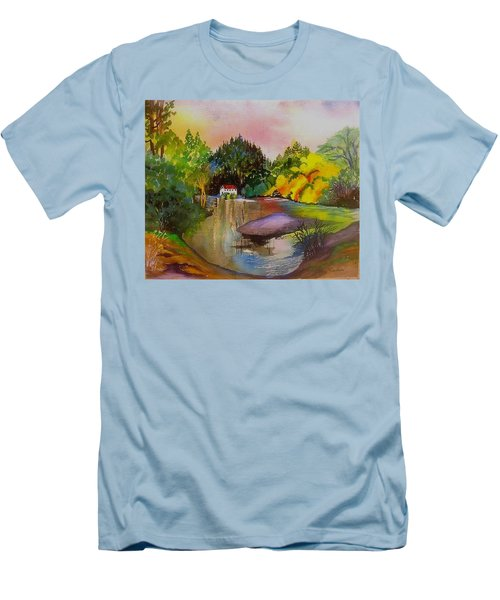Russian River Dream Men's T-Shirt (Athletic Fit)