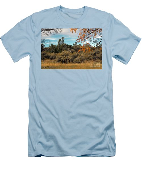 Sagebrush And Lava Men's T-Shirt (Slim Fit) by Cindy Murphy - NightVisions