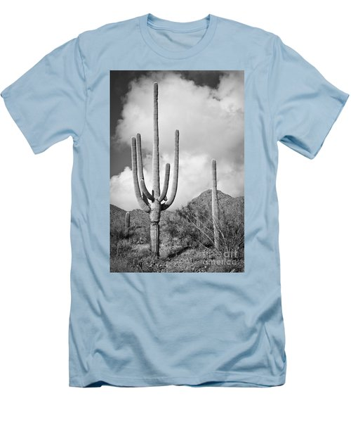 Saguaro Men's T-Shirt (Athletic Fit)
