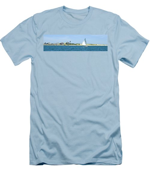 Sailing Around Barnstable Harbor Men's T-Shirt (Athletic Fit)