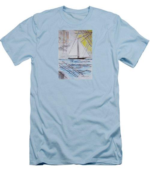 Sailors Delight Men's T-Shirt (Slim Fit) by J R Seymour