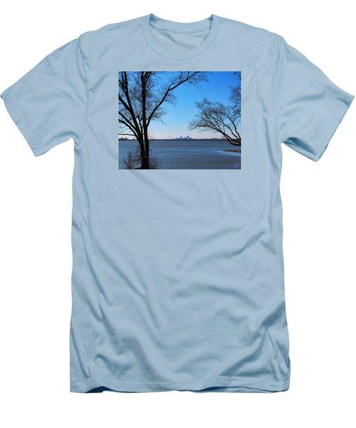 Saint Louis Blues Men's T-Shirt (Slim Fit) by John Freidenberg
