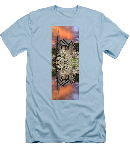 Saint Malo Panorama Men's T-Shirt (Athletic Fit)