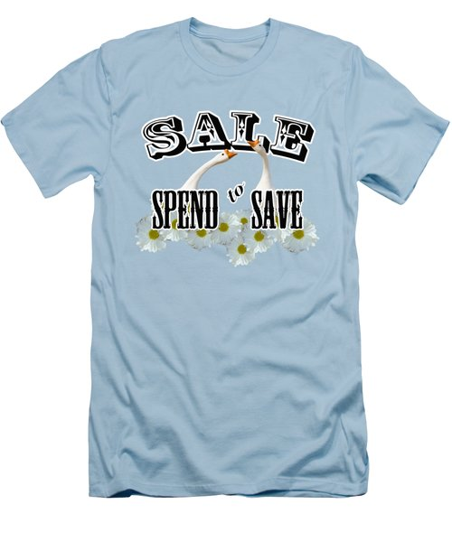 Sale Men's T-Shirt (Slim Fit) by Phyllis Denton