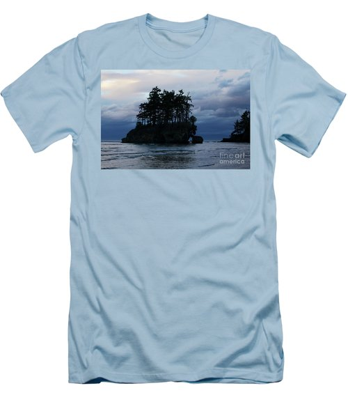 Salt Creek At Sunset Men's T-Shirt (Slim Fit) by Jane Eleanor Nicholas