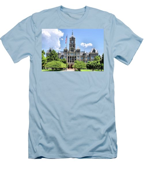 Salt Lake City County Building Men's T-Shirt (Athletic Fit)