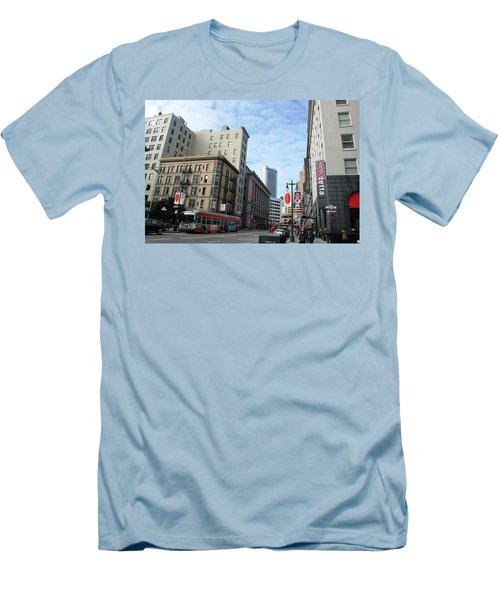San Francisco - Jessie Street View Men's T-Shirt (Slim Fit) by Matt Harang