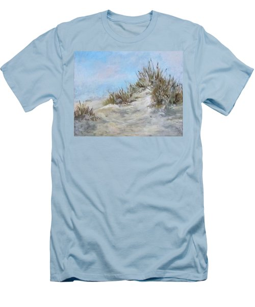 Sand Dunes And Salty Air Men's T-Shirt (Slim Fit) by Barbara O'Toole
