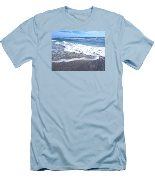 Sand, Sea, Sun No. 1 Men's T-Shirt (Athletic Fit)