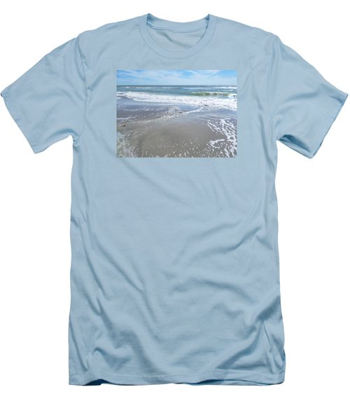 Sand, Sea, Sun, No. 3 Men's T-Shirt (Athletic Fit)