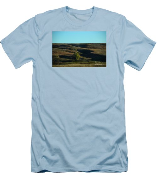 Sandhills Hills Men's T-Shirt (Slim Fit) by Mark McReynolds