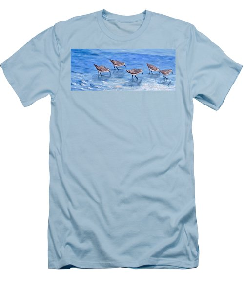 Sandpipers Men's T-Shirt (Athletic Fit)