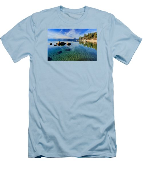Sands Of Time 2 Men's T-Shirt (Slim Fit) by Sean Sarsfield