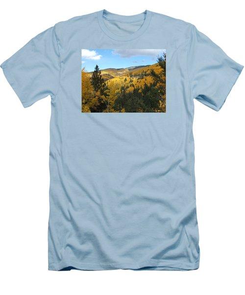 Santa Fe Autumn View Men's T-Shirt (Athletic Fit)