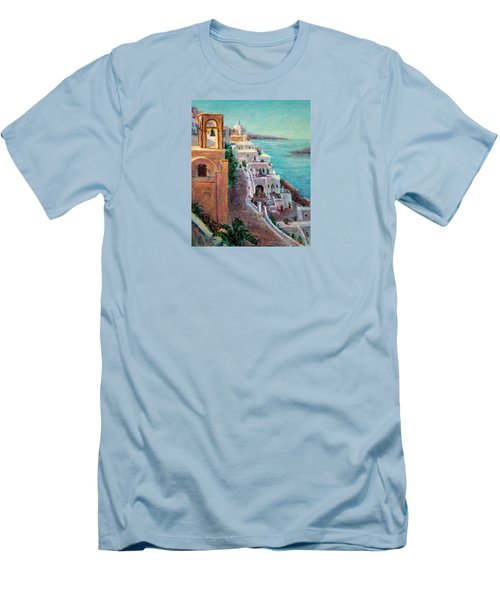 Hotels Of Santorini Men's T-Shirt (Slim Fit)