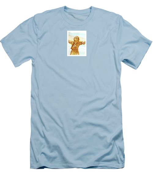 Sarah On The Beach Men's T-Shirt (Athletic Fit)