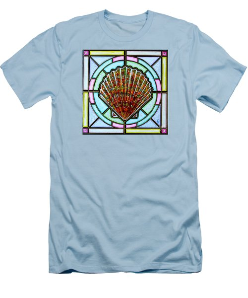 Scallop Shell 1 Men's T-Shirt (Slim Fit) by Jim Harris