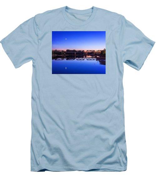 Scioto Sunset Crossing Men's T-Shirt (Athletic Fit)