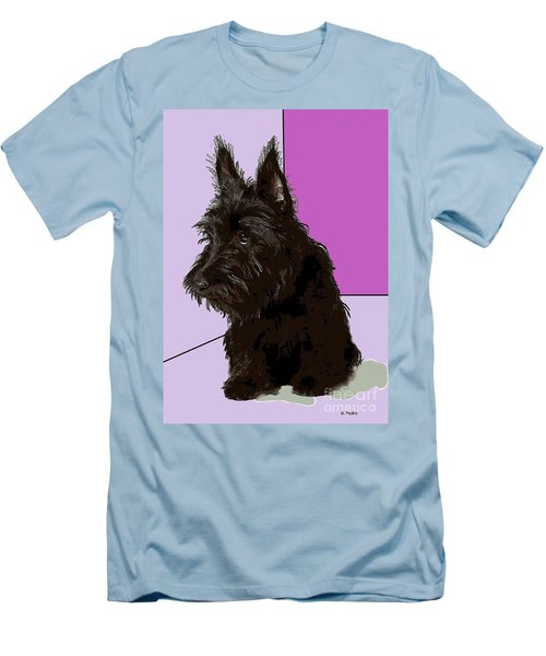 Scottish Terrier Men's T-Shirt (Athletic Fit)