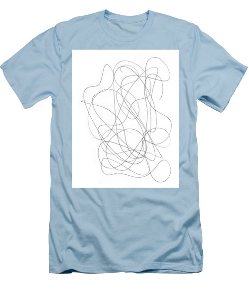 Scribble For Grin And Bear It Men's T-Shirt (Slim Fit) by Ismael Cavazos