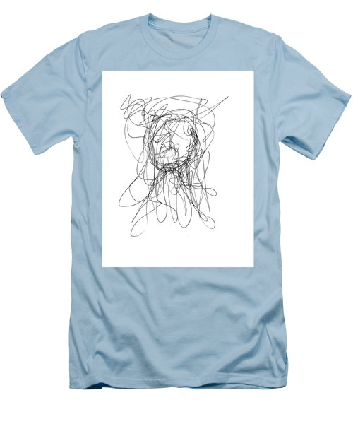 Scribble For Gusts, Dust, The Sun... Men's T-Shirt (Slim Fit) by Ismael Cavazos