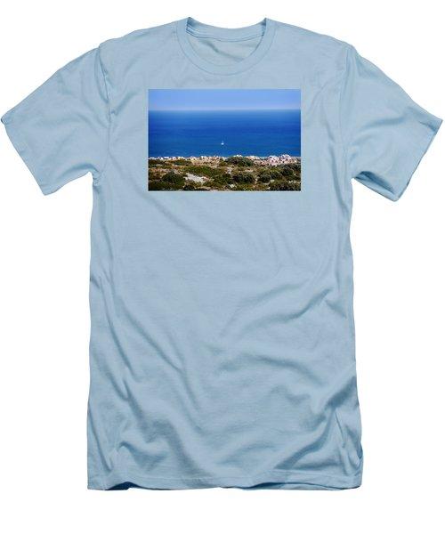 Sea Men's T-Shirt (Slim Fit) by Bernd Hau