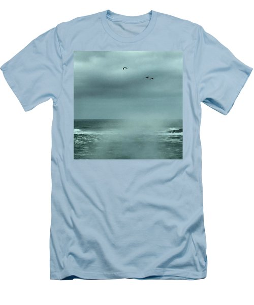 Sea Spray Men's T-Shirt (Athletic Fit)