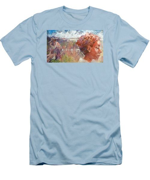 Seasons Of Sweetgrass Men's T-Shirt (Athletic Fit)
