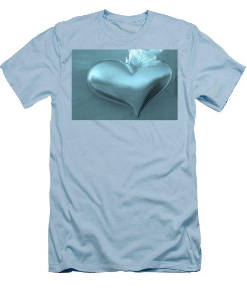 Men's T-Shirt (Slim Fit) featuring the photograph Secret Heart by Juergen Weiss