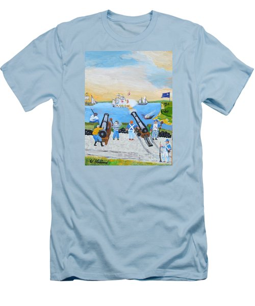 Seige Of Charleston, Sc Men's T-Shirt (Athletic Fit)