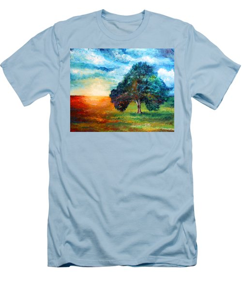 Self Portrait #3 A New Day Men's T-Shirt (Athletic Fit)