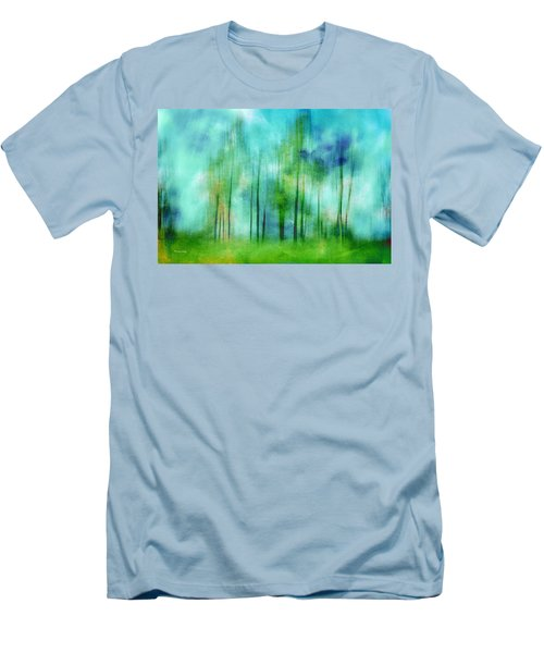 Sense Of Summer Men's T-Shirt (Slim Fit) by Randi Grace Nilsberg