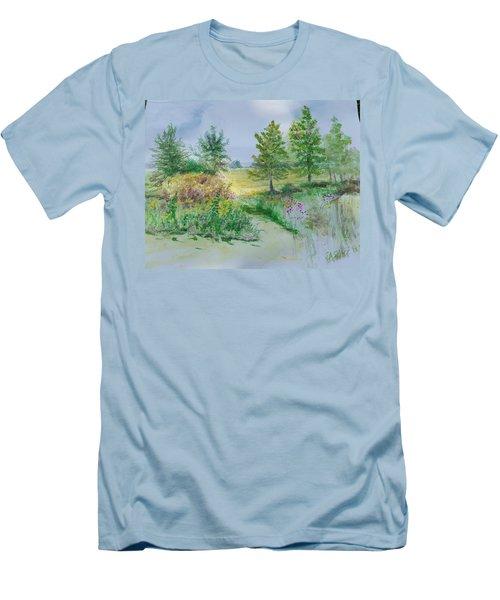 September At Kickapoo Creek Park Men's T-Shirt (Athletic Fit)