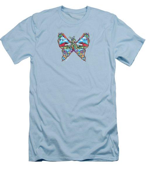 September Butterfly Men's T-Shirt (Athletic Fit)