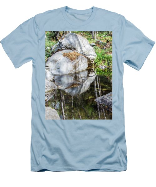 Serene Reflections Men's T-Shirt (Slim Fit) by Ed Clark