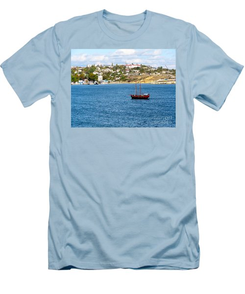 Sevastapol. Ukraine Men's T-Shirt (Athletic Fit)