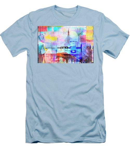 Seventh Street Men's T-Shirt (Slim Fit) by Susan Stone