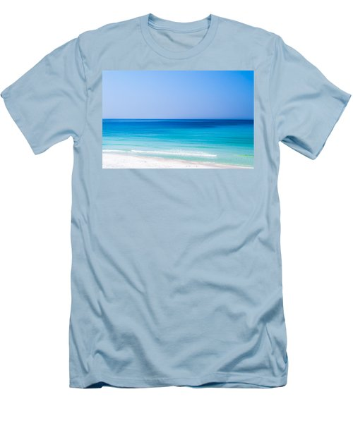 Shades Of Blue Men's T-Shirt (Slim Fit) by Shelby  Young