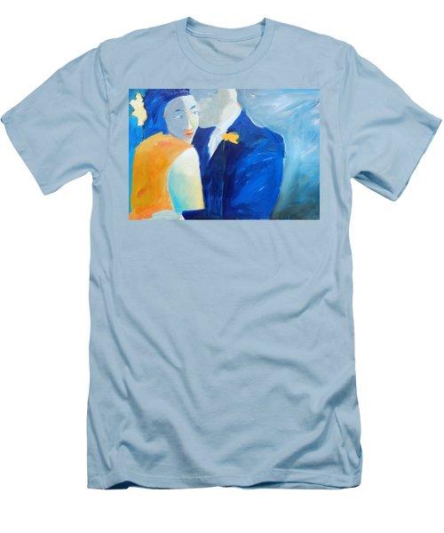 Shades Of Gray Men's T-Shirt (Slim Fit)
