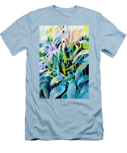 Shadowed Delight Men's T-Shirt (Slim Fit) by Rae Andrews