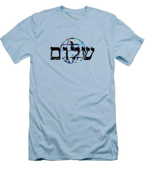 Shalom  Men's T-Shirt (Athletic Fit)