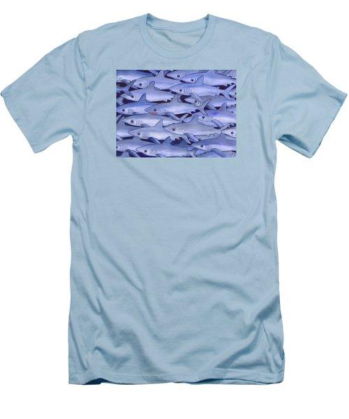 Sharks Men's T-Shirt (Athletic Fit)