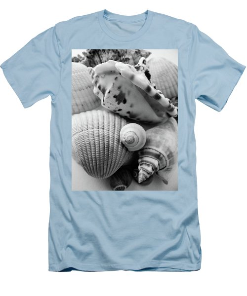 She Sells Seashells Men's T-Shirt (Slim Fit) by Julia Wilcox