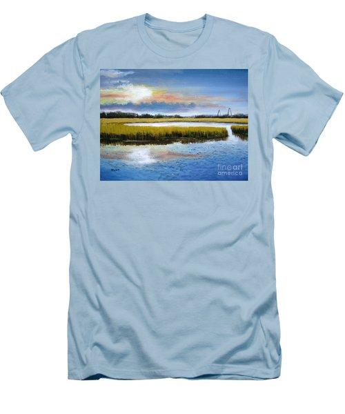 Shem Creek Sky Men's T-Shirt (Athletic Fit)