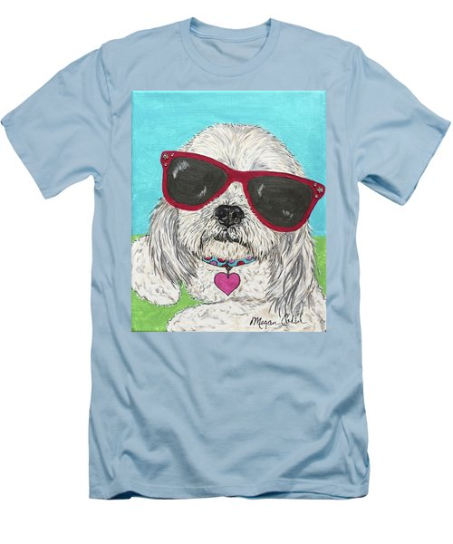 Shih Tzu Diva Men's T-Shirt (Athletic Fit)