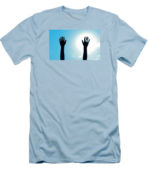Shine On Men's T-Shirt (Slim Fit) by DAKRI Sinclair