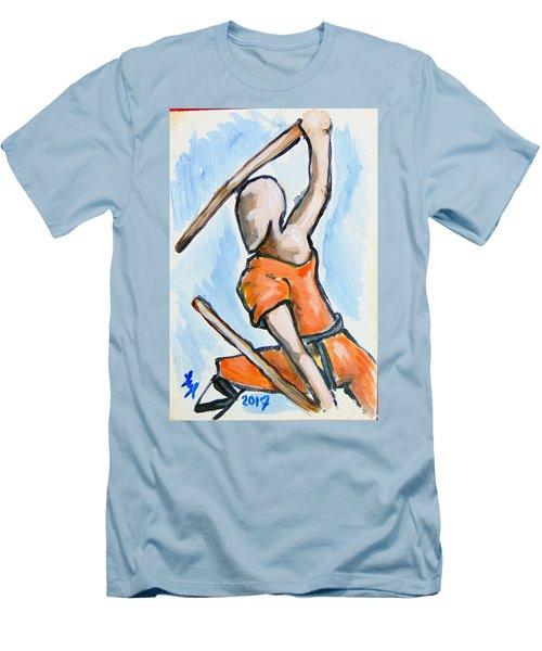Sholin Monk Men's T-Shirt (Athletic Fit)