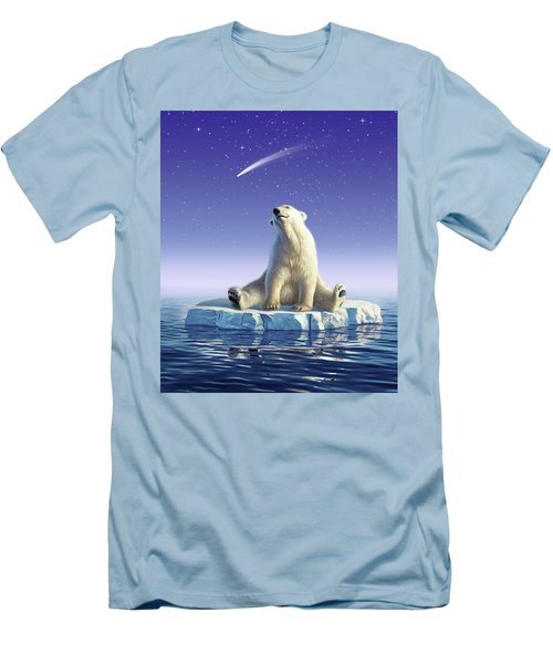 Shooting Star Men's T-Shirt (Athletic Fit)