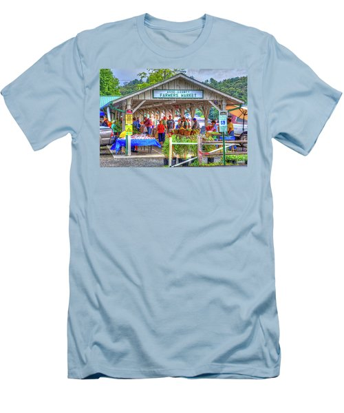 Shop Local Men's T-Shirt (Slim Fit) by Dale R Carlson