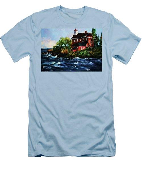 Shoreline Light Men's T-Shirt (Athletic Fit)